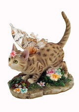 Annabelle Fairy Cat Figurine Faerie Glen Collection - Munro Gifts