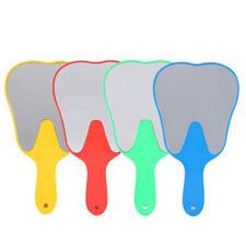 Dental Mirror Mouth Mirror Teeth Shape Tooth Examination Instrument Choose Color