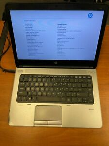 "HP ProBook mt41 Laptop 14"" A4-4300M APU HD Graphics 2.50GHz 4GB Ram 16GB SSD"