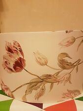 Lampshade Handmade in UK - Laura Ashley gosford paprika Wallpaper