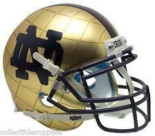 Notre Dame Fighting Irish 2014 Hydroskin Mini XP NCAA Football Helmet by Schutt