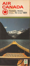 Air Canada system timetable 9/10/84 [5012] Buy 2 Get 1 Free