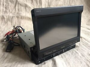 "Clarion NZ503 Single-DIN In-Dash 7"" Motorized LCD Monitor DVD BT Navigation 1DIN"