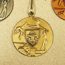Gymnastics Medal Award W/ Neck Ribbon ~New~ Free Engraving