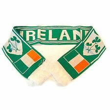 St Patricks Day Ireland Irish Shamrock Rugby And Football Team Scarf