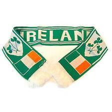 St Patricks Day Ireland Irish Shamrock Rugby And Football Team Scarf