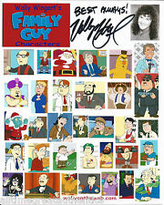 VOICE ACTOR WALLY WINGERT HAND SIGNED AUTHENTIC FAMILY GUY COLLAGE PHOTO w/COA