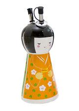Porcelain Kimono Japanese Doll Magnetic Oil and Vinegar Set **CLEARANCE** RRP$35