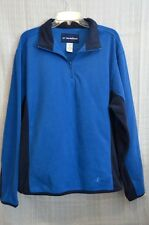 Nordic Track lightweight fleece jacket with 1/4 zipper. size LG. Excell.Cond