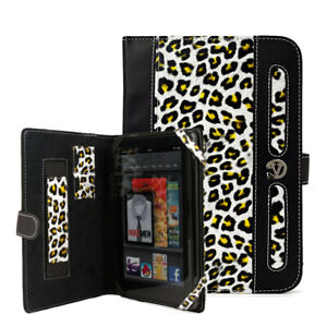 Leopard Pattern Bookstyle Tablet Case Notebook Protect Cover For Lenovo Tab M7