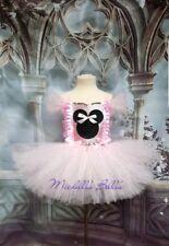 Pink Minnie mouse style tutu dress