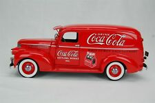 "Danbury Mint 1941 Coca Cola Coke Delivery Truck Red 8.25"" Length Diecast"