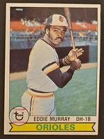 1979 Topps Eddie Murray #640 NR-MINT Baltimore Orioles