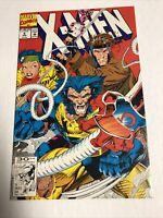 X-Men (1992) # 4 (NM-) | 1st App Omega Red | Jim Lee | Direct edition