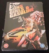 Guns Girls & Gasoline SteelBook 6 DVD Movie DOA FAST & FURIOUS SNATCH OOP & Rare