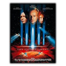 Il quinto elemento in metallo Insegna Placca Retro Film Movie Annuncio Poster stampati Decor