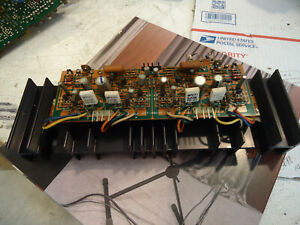 Kenwood KR-6600 Stereo Receiver Parting Out Amp Board Heatsinks and Outputs