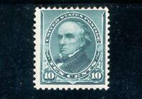 USAstamps Unused FVF US 1890 Regular Issue Webster Scott 226 OG MNH