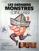 Plakat Kino Les Letzten Monsters Dino Risi Laura Antonelli 120 X 160 CM