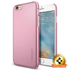 [Spigen Outlet] Apple iPhone 6 / 6S [Thin Fit] Metalic Rose Light Weighted Case