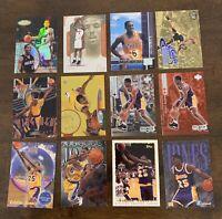 47 Card Eddie Jones Lot - Rookies & More - Heat, Lakers, Temple