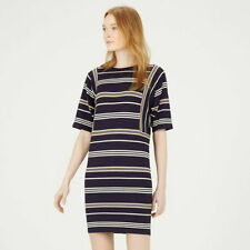 Warehouse Short Sleeve Casual Striped Dresses for Women