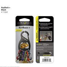 Nite Ize KRB-03-01 S-Biner Key Rack and Bottle Opener Keychain Black