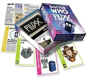 Dr Who Fluxx Card Game *NEW* Free UK Delivery