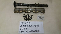 HONDA CBR 900 FIREBLADE SC28 STREET FIGHTER ENGINE FRONT CAMSHAFT & COVER