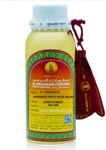 Al Haramain Perfumes WHITE MUSK MALAKI  Oil 500 ml  Musk