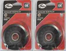 Gates Idler pulley x2 Ford Falcon AU,BA,BF,DF,DL,EF,EL,FG,NF,NL 38009