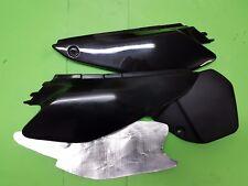 - Yamaha DT125X DT125R DT125RE DT Seitenverkleidung Satz mit Hitzeschutz schwarz