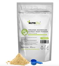 250g (8.8oz) 100% Pure Organic Ashwagandha Root Powder Withania Indian Ginseng