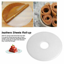 Food Dehydrator Fruit roll-up Sheets Food Fruit leathers Leather Dryer White