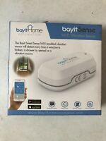 Bayit Sense BH-1901 Wi-Fi Vibration Sensor Smart Home Security Mobile Alerts NEW