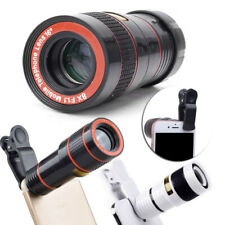 HD 12x Optical Zoom Clip on Camera Len Phone Telescope For Universal Cell Phone