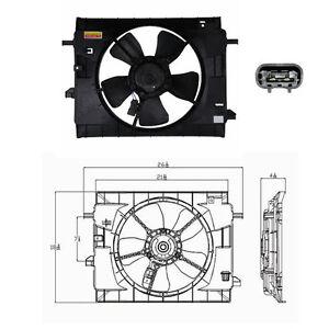 Dual Rad & Cond Fan Assembly Fits: 2006 - 2011 Chevrolet HHR L4 2.2L & 2.4L