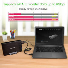 USB3.0 Hard Disk Drive Enclosure Case &Power Switch,3.5 Inch SATA/Ⅱ/Ⅲ HDD SSD