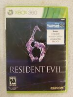 Resident Evil 6 (M) XBOX 360 Horror (Video Game) NO MANUAL TESTED FREE S/H
