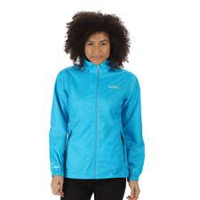 Vestes et imperméables de randonnée bleus en polyester pour femme