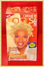 Creme of Nature Permanent Gel Hair Color Kit # 9.3 Ginger Blonde  ~Free shipping