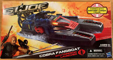 Cobra Fangboat Vehicle with Figure GI Joe Retaliation 2011 Hasbro Sealed