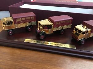 LLEDO GOS1006 Age Of Steam Collection 22 carat gold plated set Sentinel & Foden