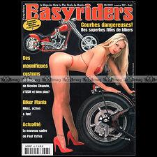 EASYRIDERS N°362 HARLEY CUSTOM BIKE & CHOPPER PAUL YAFFE NICOLAS CHAUVIN 2003