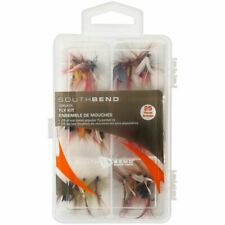 South Bend Fishing 25-Piece Fly Assortment w/Box - 25 Best Selling Flies Sbfly25
