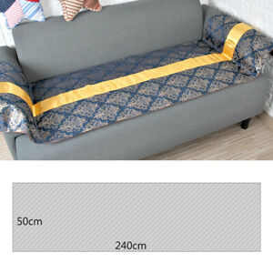 Bed Runner Scarf Protector Slipcover Cushion Cover Hotel Wedding Bedroom Decor