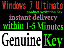 WINDOWS 7 Ultimate 32/64 Bit Activation key INSTANT DELIVERY 5MINT+DOWNLOAD Link