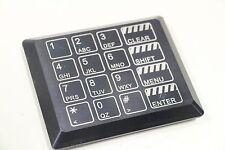 Baran EverSwitch eFUELING 191011216 4x4 Black Keypad 24V ac/dc Touch Pad