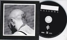 GALLOWS CHAINS RARE 2 TRACK PROMO CD