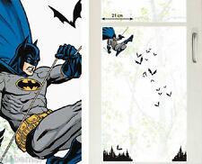 Stickers electrostatiques pour vitres chambre garçon Batman window ventana